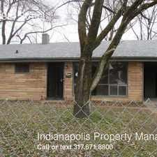 Rental info for 6047 East 39th Street in the Indianapolis area