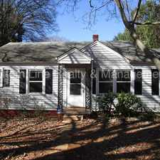 Rental info for Great 2 Bedroom 1 Bath Home Ready for Rent! in the Biddleville area