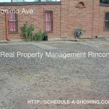Rental info for 3358 N Geronimo Ave in the Tucson area