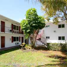 Rental info for 806 NE 16th Place in the Fort Lauderdale area