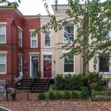 Rental info for 816 9th Street Northeast in the Washington D.C. area