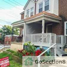 Rental info for Lovely home with hardwood floors! Lots of closet and storage space! in the Philadelphia area