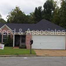 Rental info for Bartlett Home Located in Quiet Cove in the Memphis area