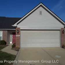 Rental info for 8556 Gold Rush Way in the Indianapolis area