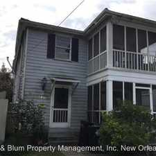 Rental info for 5416-5418 Annunciation St - 5416 in the New Orleans area