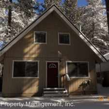 Rental info for 1089 Stockton Ave in the South Lake Tahoe area