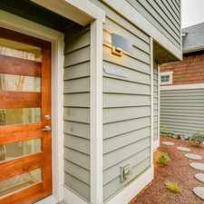 Rental info for Immaculate Gatewood Townhome with Views! in the Seattle area