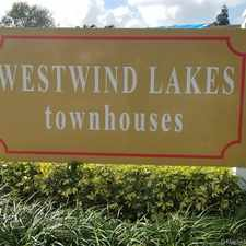Rental info for 7104 Southwest 152nd Avenue in the Kendale Lakes West area
