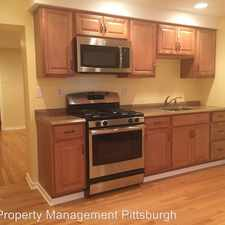 Rental info for 4914 Penn Avenue Apt. 1 in the Pittsburgh area