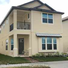 Rental info for 1769 White Feather Loop