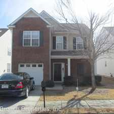 Rental info for 9036 Holland Park Lane in the Charlotte area