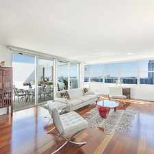 Rental info for UNIQUE SPACIOUS BAY-FRONT PENTHOUSE ON BELLE ISLE (MIAMI BEACH)