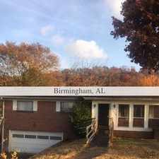 Rental info for House For Rent In BIRMINGHAM. in the Birmingham area