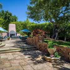 Rental info for Charming 4 Bedroom, 5 Bath. Will Consider! in the Santa Barbara area