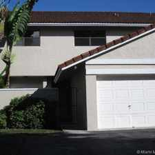 Rental info for 8814 Southwest 113th Place in the 33176 area