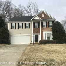 Rental info for 15002 Strathmoor Drive in the Charlotte area