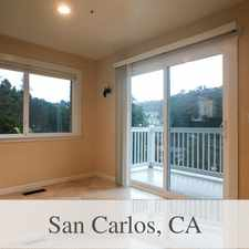 Rental info for San Carlos Luxurious 4 + 2.50. Washer/Dryer Hoo... in the Redwood City area