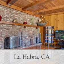 Rental info for House In Great Location in the La Habra area
