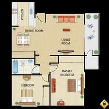 Rental info for 2 Bedrooms Apartment - Large & Bright in the Upland area
