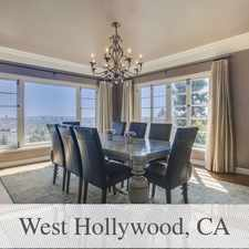 Rental info for Apartment In Move In Condition In West Hollywoo... in the Los Angeles area