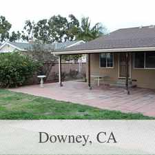 Rental info for - Beautifully Remodeled Home With 3 Bedrooms An... in the Downey area