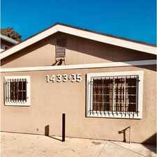 Rental info for Completely Remodeled Unit Situated In A Duplex ... in the Los Angeles area