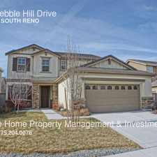 Rental info for 10855 Pebble Hill Drive in the Reno area