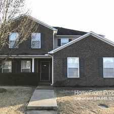 Rental info for 3529 Juneberry Way in the Murfreesboro area