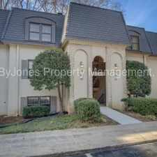 Rental info for 68 Chaumont Sq NW in the Atlanta area