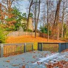 Rental info for Incredible Sought After Location! in the Atlanta area