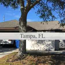 Rental info for House For Rent In TAMPA. Parking Available! in the Town 'n' Country area
