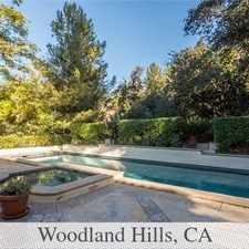 Rental info for Woodland Hills Luxurious 5 + 5.25. Parking Avai... in the Los Angeles area