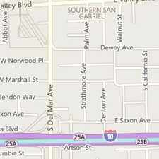 Rental info for Lease Spacious 4+3. Approx 1,582 Sf Of Living S... in the Rosemead area