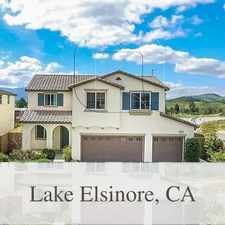 Rental info for Save Money With Your New Home - Lake Elsinore. ...