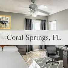 Rental info for Best Rental In The Entire Community! in the Coral Springs area