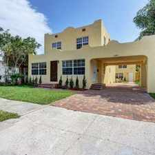 Rental info for Beautiful Single Famly Home In West Palm Beach in the West Palm Beach area