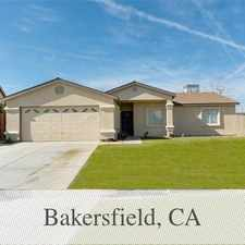 Rental info for Newer 3 2 In Gated Community in the Bakersfield area