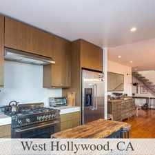 Rental info for Views Views Views In Highly Desirable Location! in the West Hollywood area