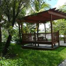 Rental info for 4 Bedrooms House - Pristine Lakefront Executive... in the Pembroke Pines area