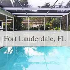 Rental info for PET FRIENDLY POOL HOME In Beautiful Estates. in the Davie area