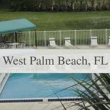 Rental info for 2 Bedrooms Apartment - FABULOUS 4TH FLOOR END U... in the West Palm Beach area