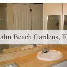 Rental info for 1 Bedroom House - Gardens Is A Gated Community ... in the Palm Beach Gardens area