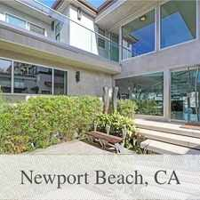 Rental info for 4 Bedrooms Apartment - Contemporary Bayfront Ho... in the Newport Beach area