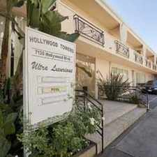 Rental info for Hollywood Towers Is Located In The Center Of Fa... in the Los Angeles area