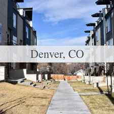 Rental info for Spectacular Townhome With Great Mountain And Ci... in the Lakewood area