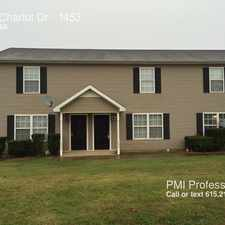 Rental info for 1453 Chariot Dr in the Murfreesboro area
