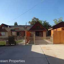 Rental info for 608 Willow Street Unit B in the Susanville area