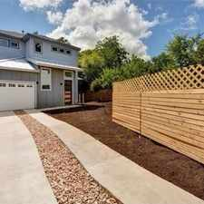 Rental info for 7215 Meador 2 in the Austin area