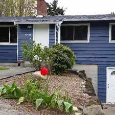 Rental info for 10448 9TH AVE SW Upper Level in the Ballard area