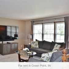 Rental info for Fabulous Split Level Home With Over 2400 Finish... in the Crown Point area